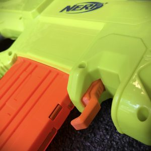 nerf rayven quick mag release lever